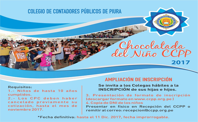 AMPLIACION DE CHOCOLATADA