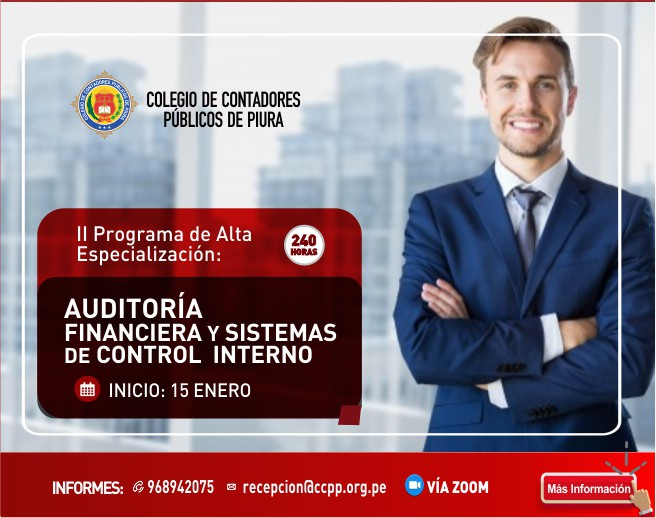 AUDITORIA ESPECIALIZACION